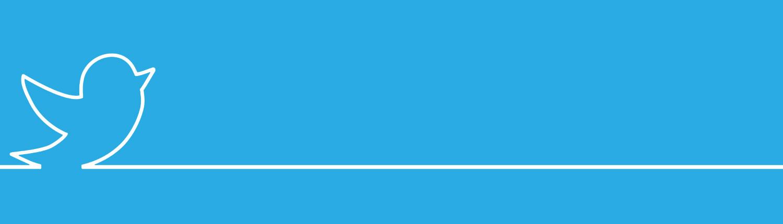 Twitter logo background