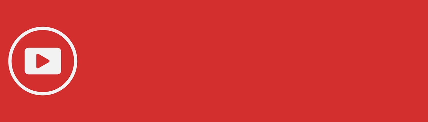 YouTube play button red background