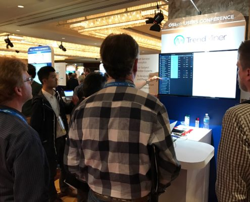 OSIsoft UC 2017 - TrendMiner booth