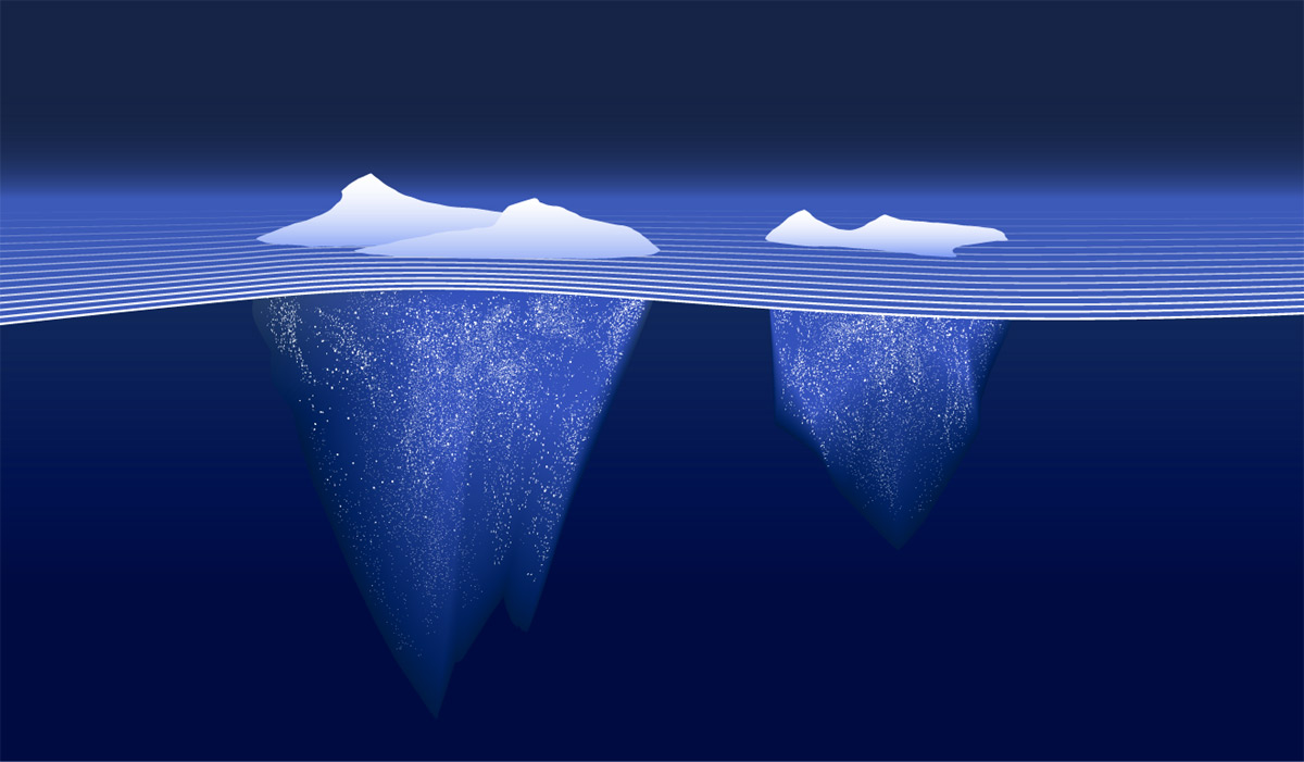 The big data iceberg