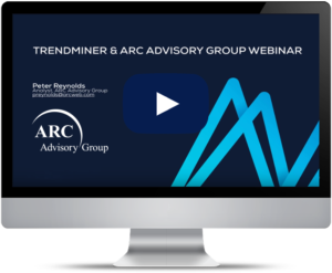 ARC webinar Industrial Process Analytics