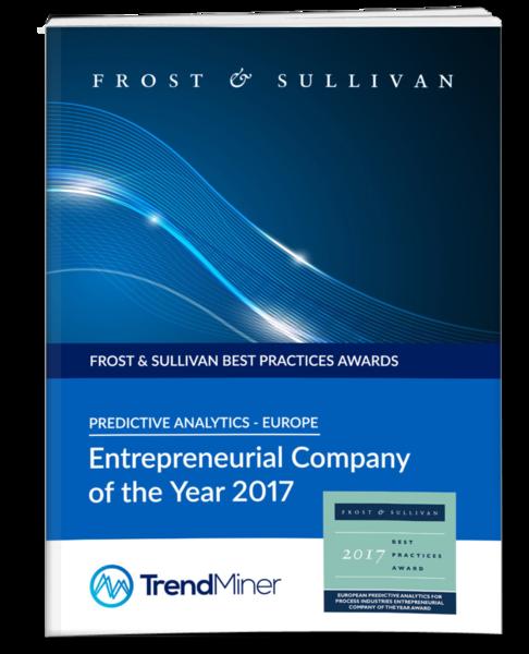Frost & Sullivan Award 2017 TrendMiner