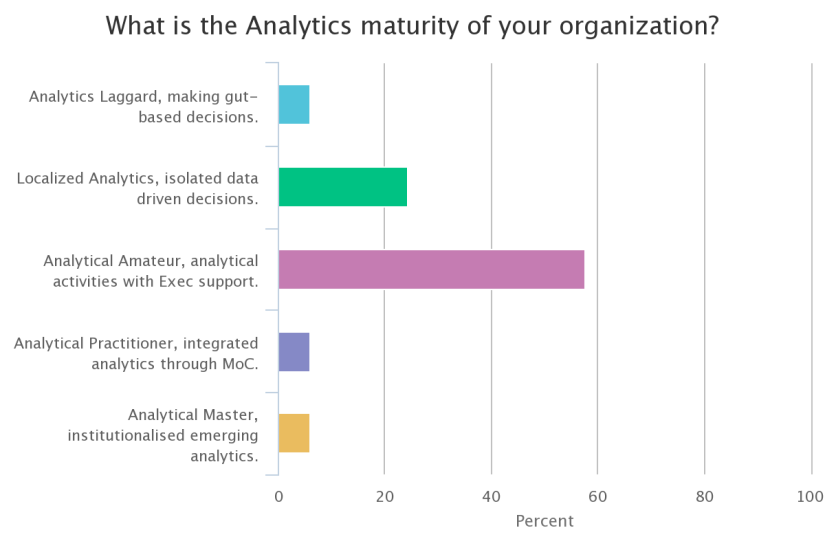 Analytics maturity survey
