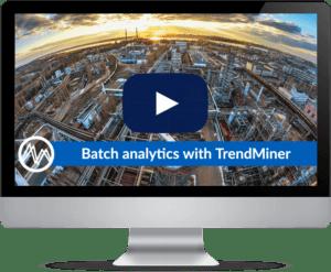 Batch analytics with TrendMiner