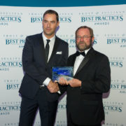 Bert Baeck at Frost & Sullivan Awards Gala