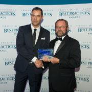 Bert Baeck at Frost & Sullivan Awards Gala