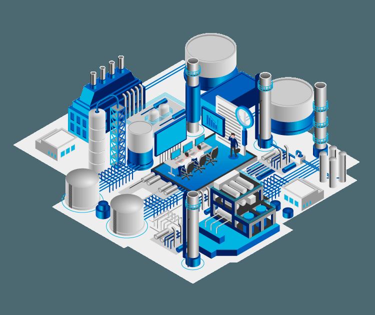 TrendMiner plant infographic