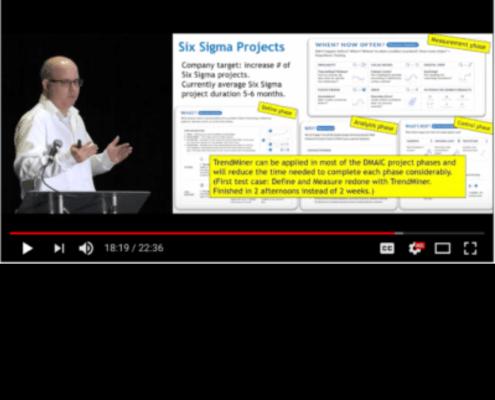 SIx Sigma project screenshot