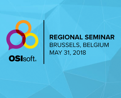 OSIsoft Regional Seminar Brussels 2018