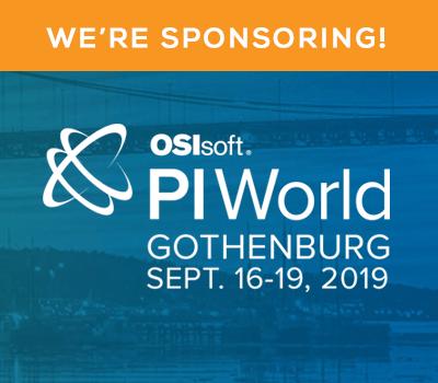 OSIsoft PI World Gothenburg 2019
