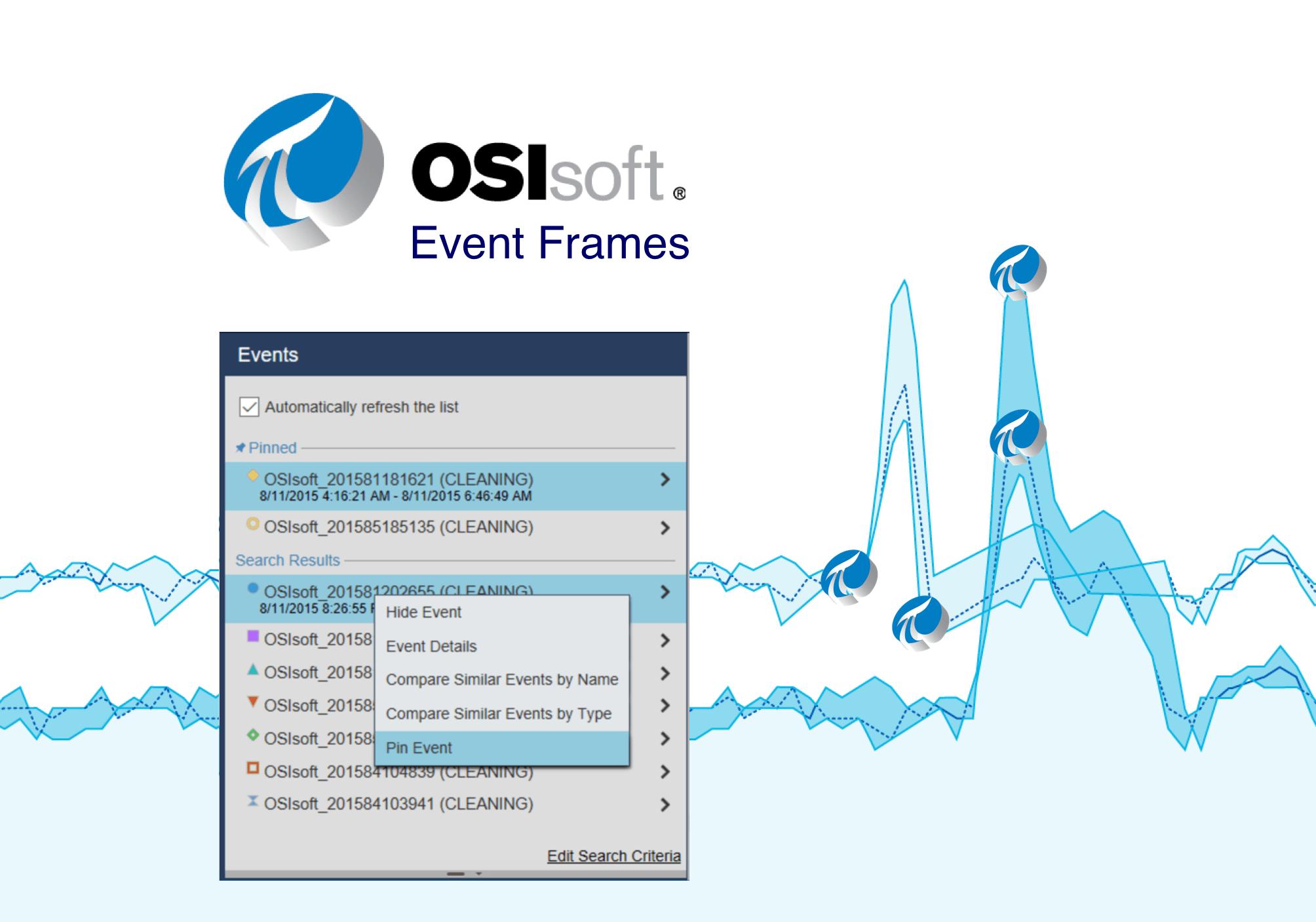 OSIsoft Event Frames Integration