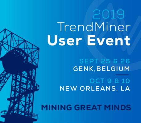 TrendMiner user event 2019 banner