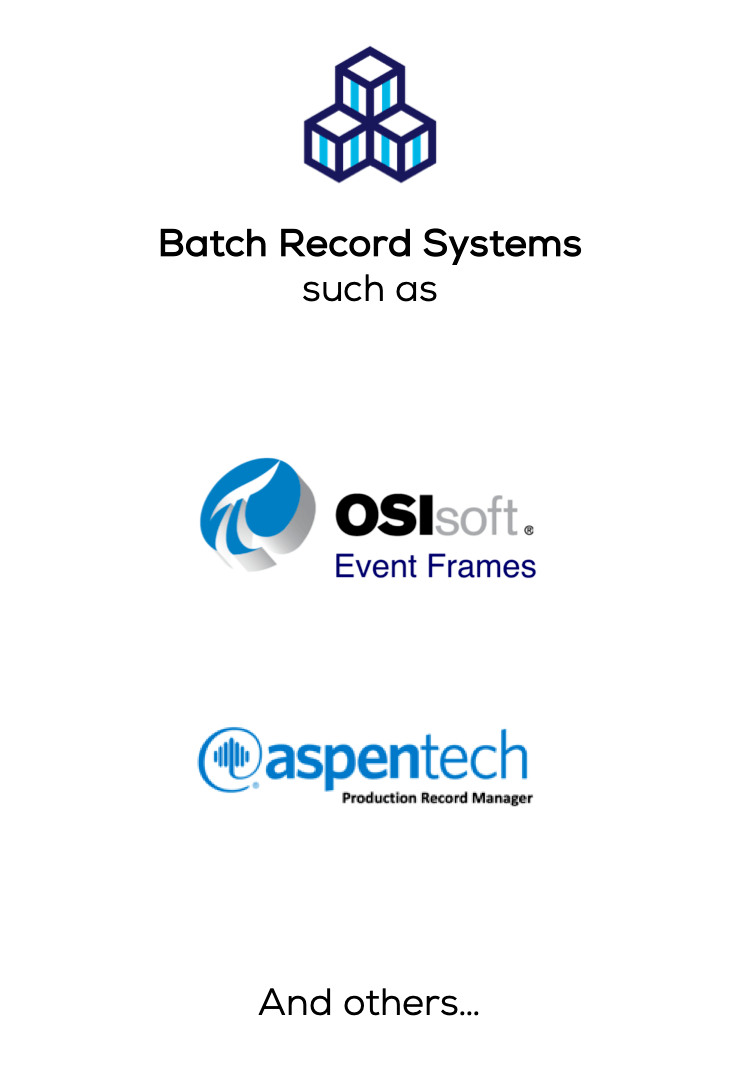 Batch record systems