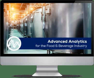 Advanced analytocs for Food & Beverage banner