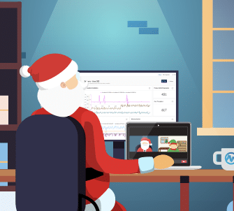 Santa 2020 Remote Work