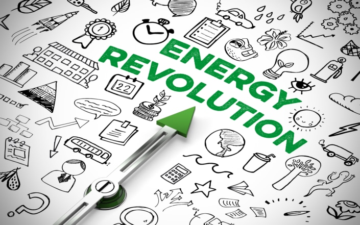 Energy revolution image